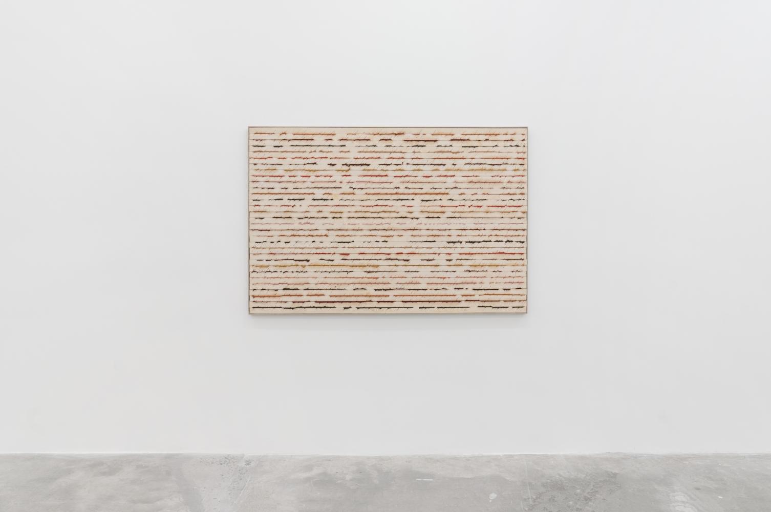 Ha Chong-Hyun (b. 1935)  Post Conjunction 11-4, 2011  Mixed Media  47.24 x 70.87 inches  120 x 180 cm
