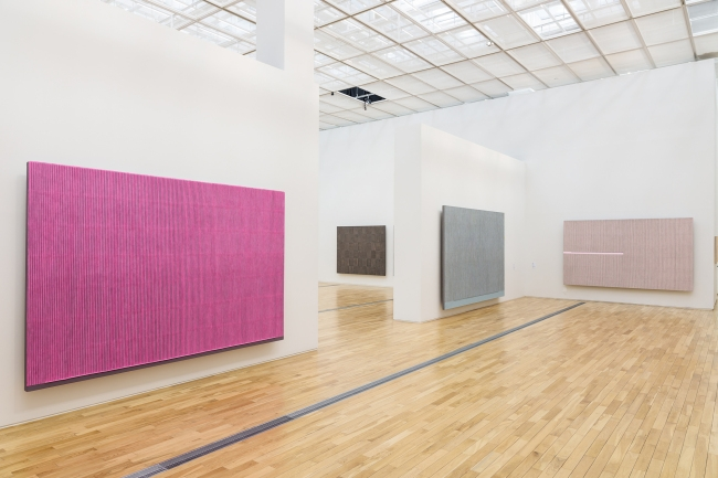 Installation view: Park Seo Bo: The Untiring Endeavorer