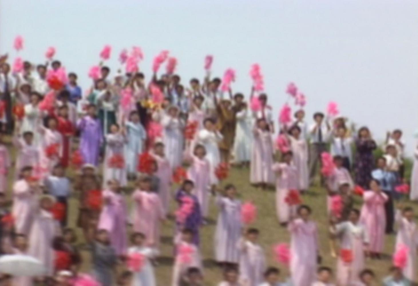 Park Chan-kyong (b.1965) Flying, 2005 Video, sound 13 min Dimensions variable