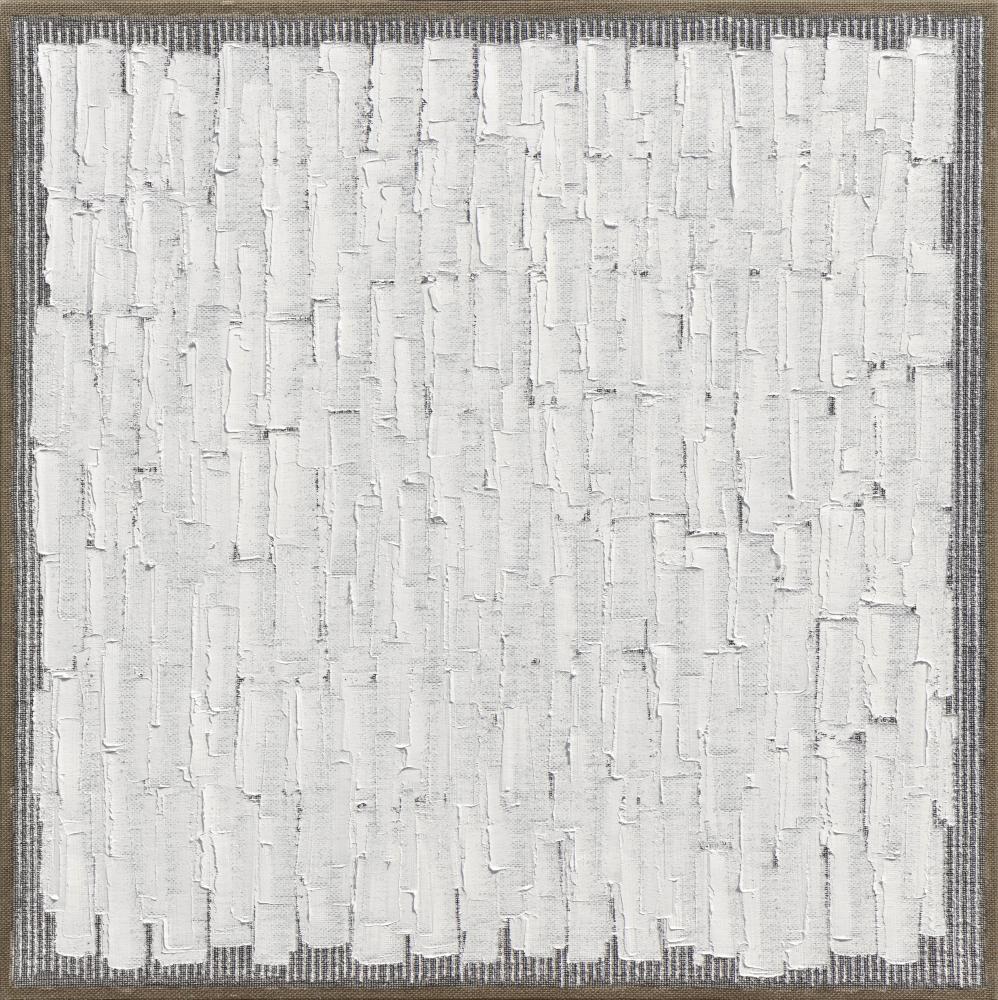 Ha Chong-Hyun (b. 1935) Conjunction 21-06, 2021 Oil on hemp cloth 47.24 x 47.24 inches 120 x 120 cm