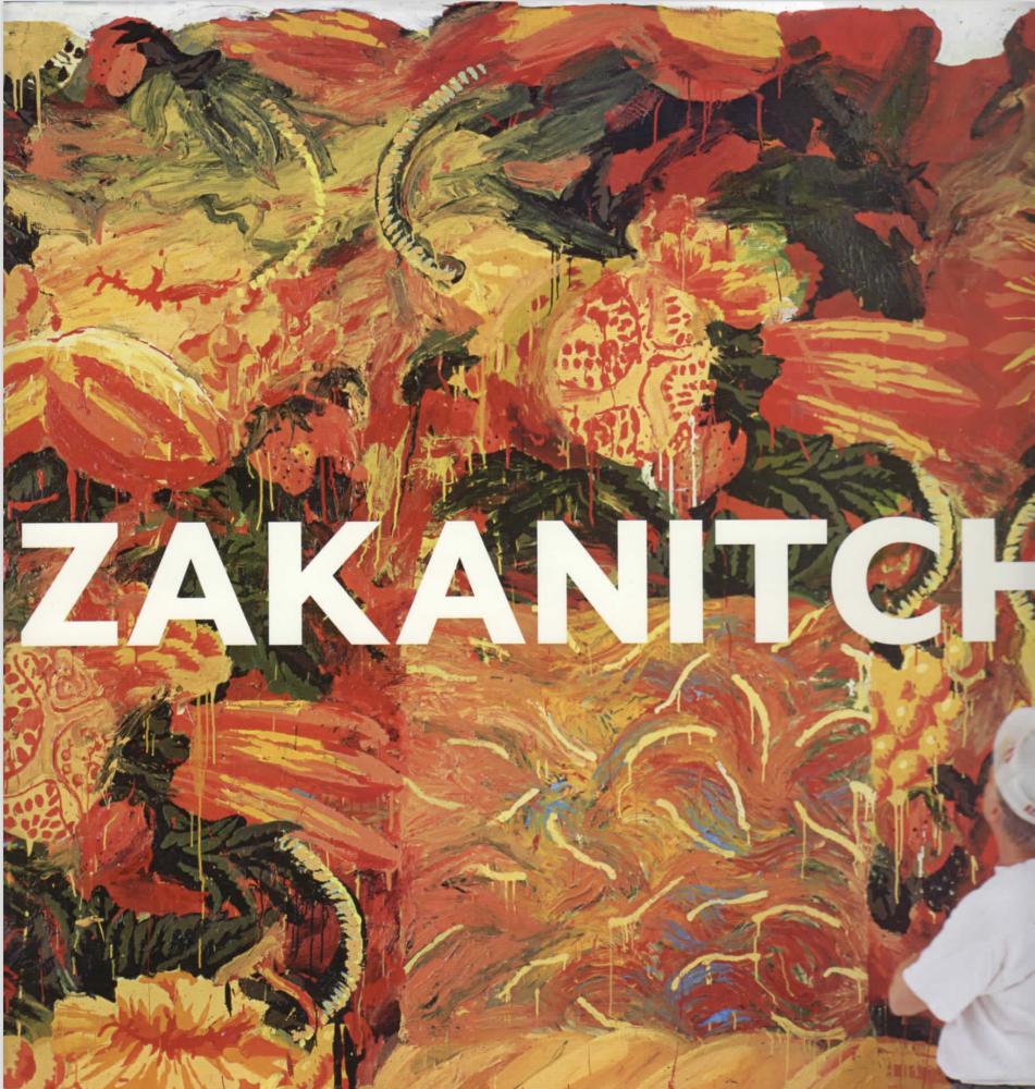 2016 monograph on Robert Zakanitch.