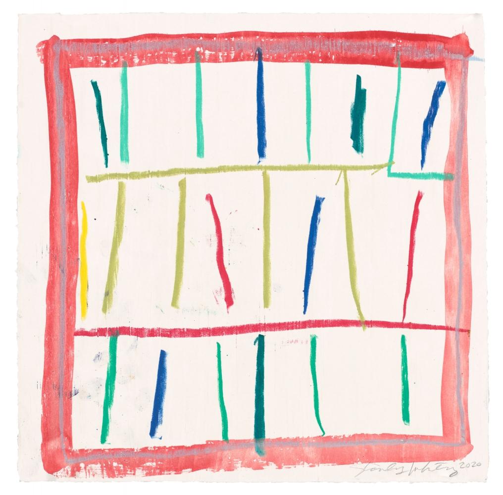 Stanley Whitney, Untitled, 2020