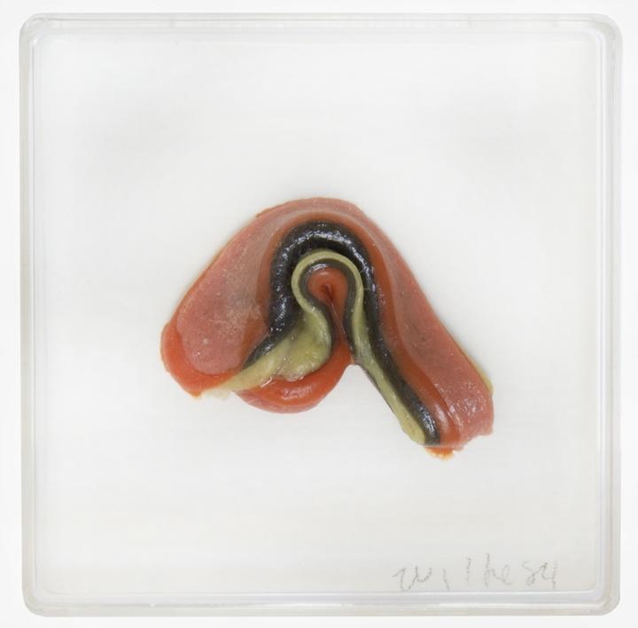 Hannah Wilke  Untitled (Single Gum Sculpture), 1984
