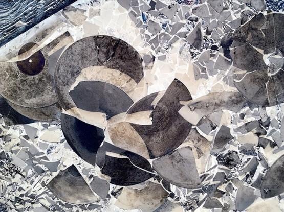 IPS #4519 (Broken Vinyl #1), 2011