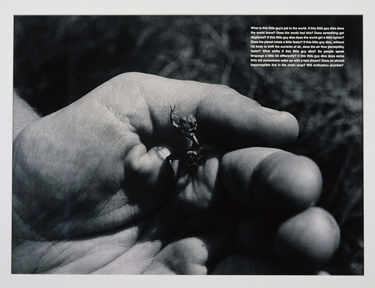 David Wojnarowicz  What is this little guy's job in the world, 1990
