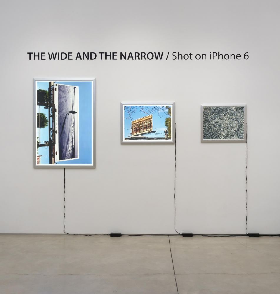 THE WIDE AND THE NARROW / Shot on iPhone 6 (#1), 2016