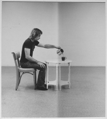 Pouring Coffee, 1973