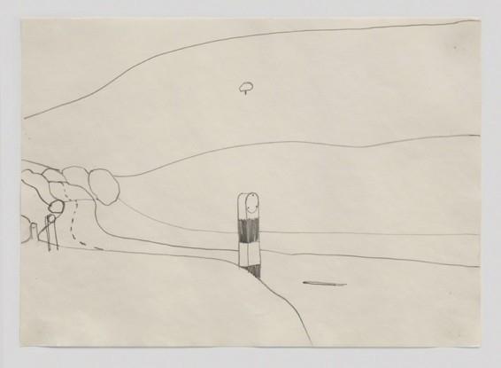 Landscape Drawing, 1967