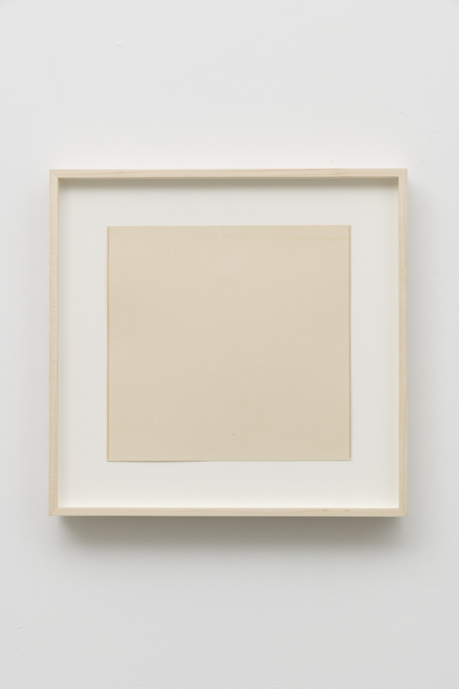 Untitled (two dark vertical pencil lines), 1967