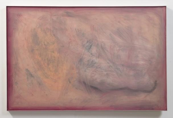 Untitled (Leonard's Landscape Erased), 1980