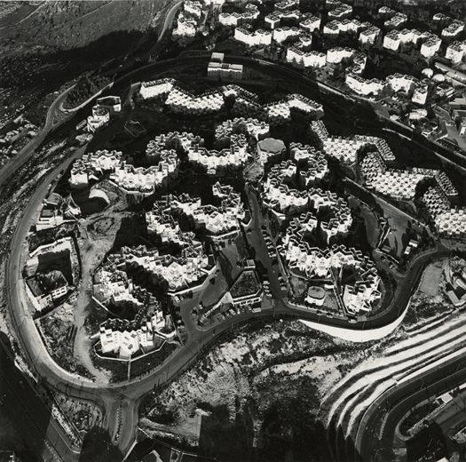 Israeli Suburban Settlement, Ramot 06, Jerusalem, 1995