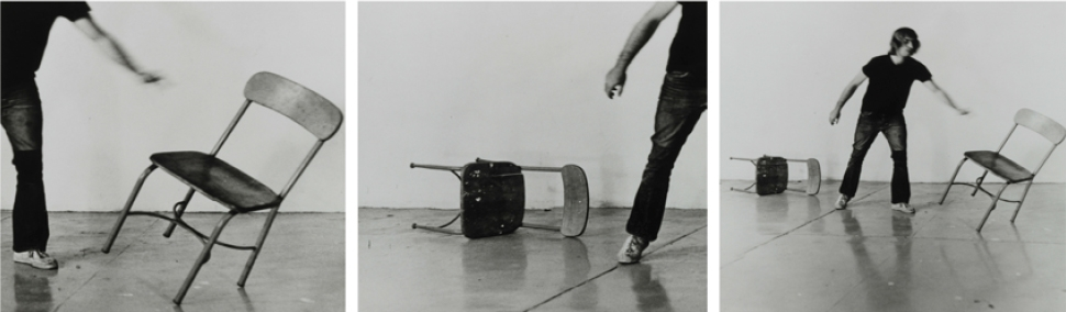 Throwing Down Chairs, 1972/1999