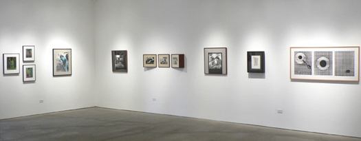 Robert Mapplethorpe Unique Works from the 1970s, installation view
