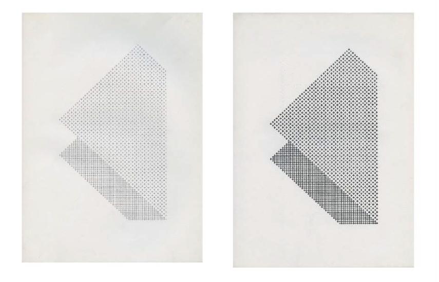 "Ruth Wolf-Rehfeldt  Untitled, from the series ""Faltungen"", n.d."