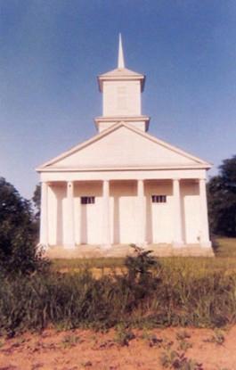 Church, Pickinsville, Alabama, 1977