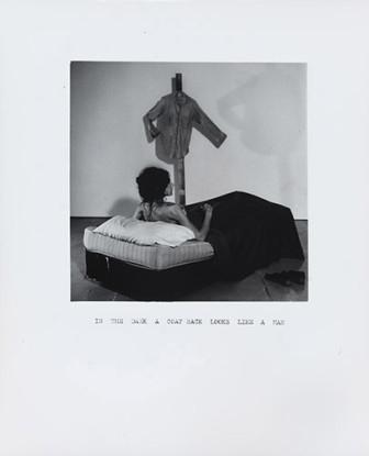 In the Dark a Coat Rack Looks Like a Man, 1972