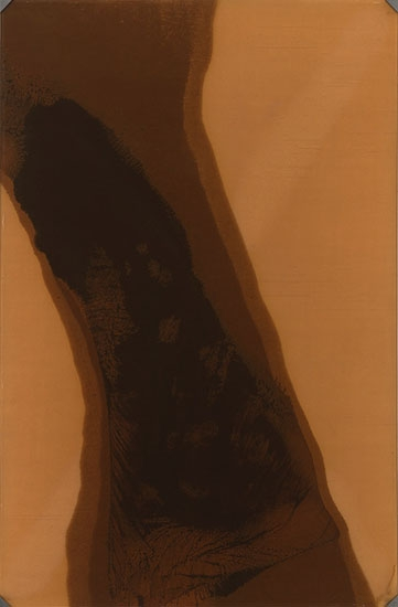 Helène Aylon, Vertical Form Diffused, 1977