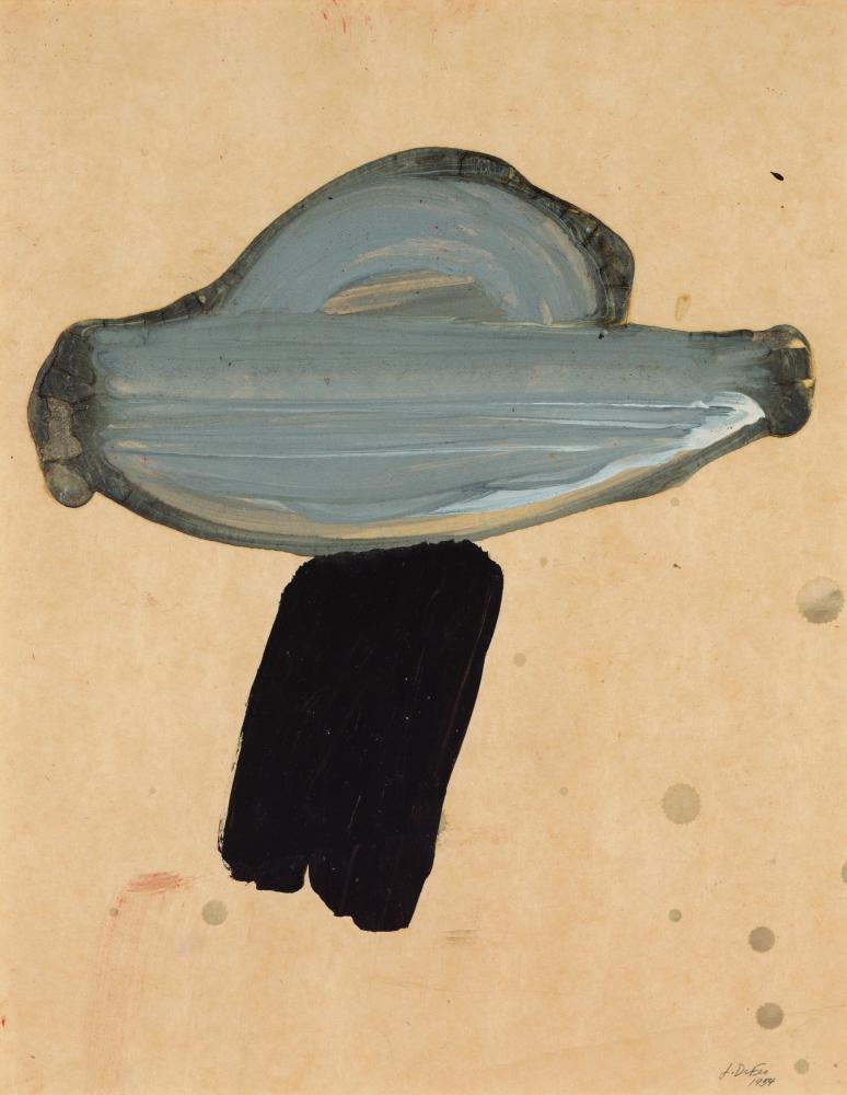 Jay DeFeo  Untitled (Tree series), 1954