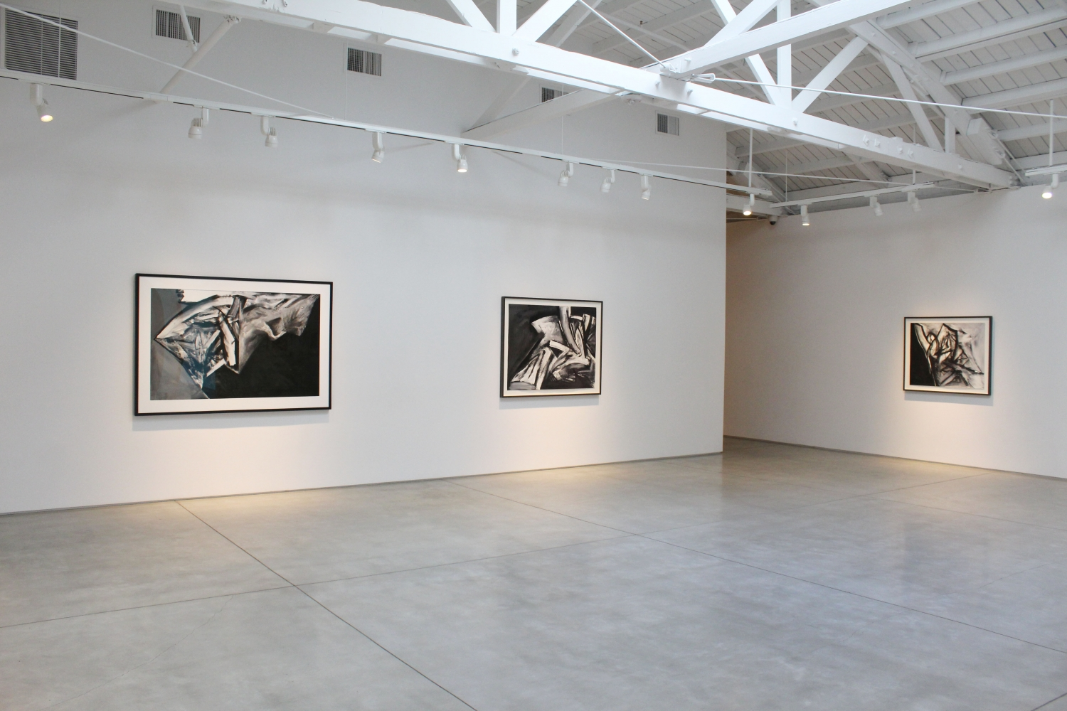 Jay DeFeo Paintings on Paper 1986 - 1987, installation view