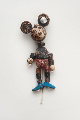 Untitled (Mickey and Blue Adidas), 2011