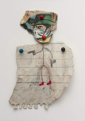 Cowboy with Red Shoes, 2011