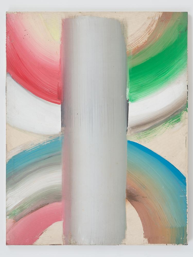 Ed Clark  Untitled  c. early 1990s  acrylic on canvas  55 1/4 x 70 1/2 inches (140.3 x 179.1 cm)