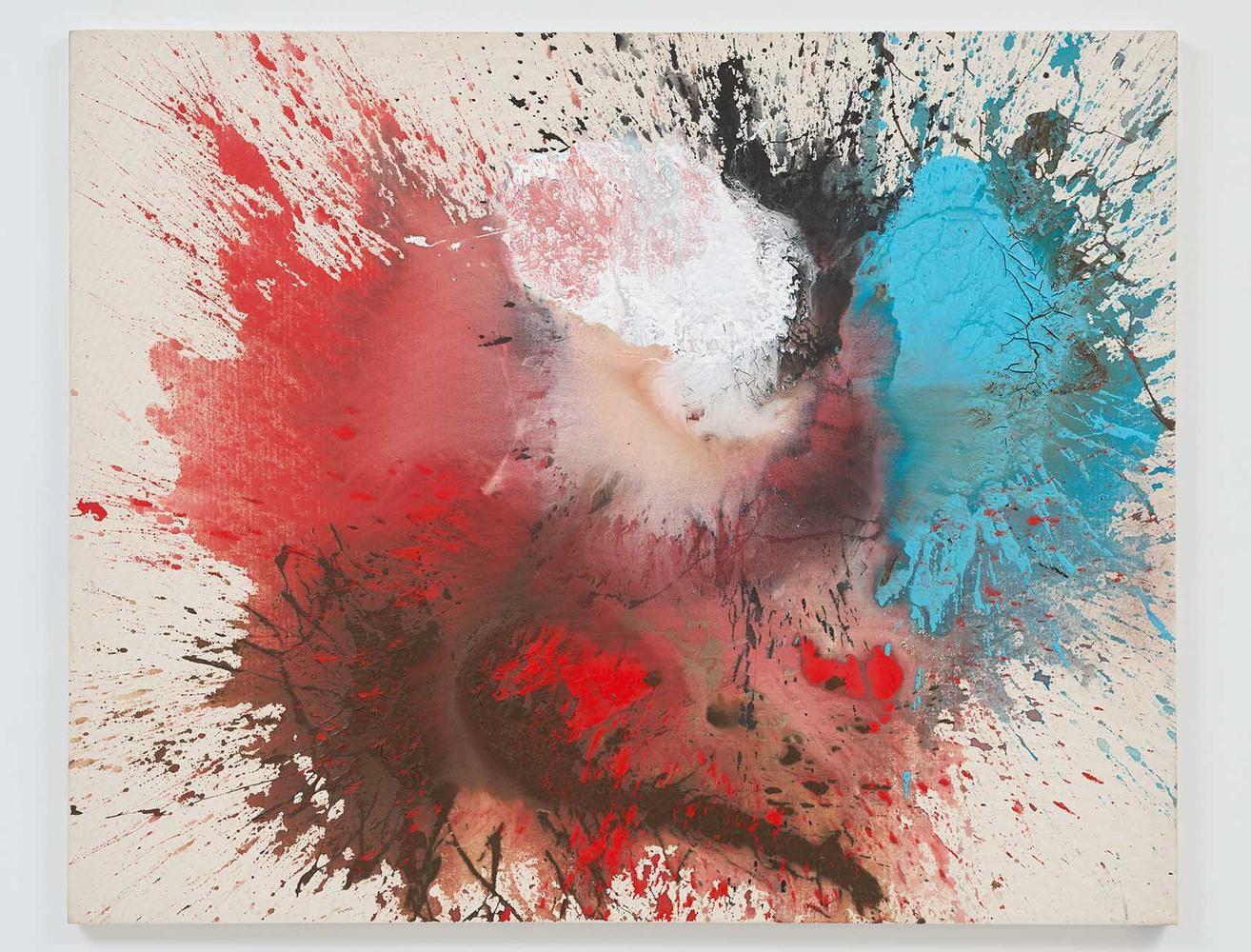 Ed Clark  Untitled  2005  acrylic on canvas  53 1/4 x 66 inches (135.3 x 167.6 cm)