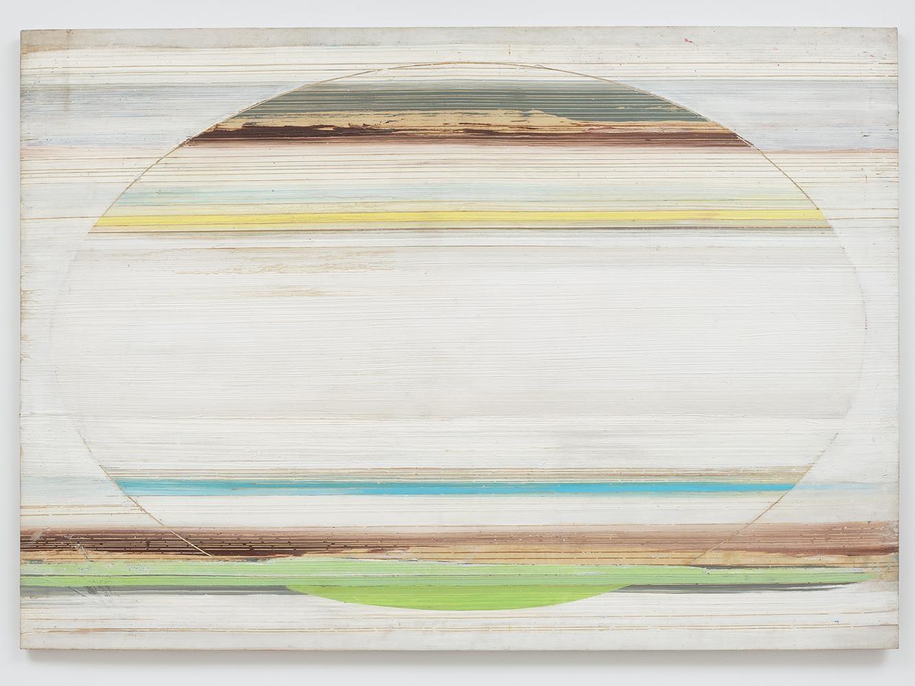 Ed Clark Untitled 1974-75 acrylic on canvas 57 1/4 x 80 1/4 inches (144.8 x 203.2 cm)