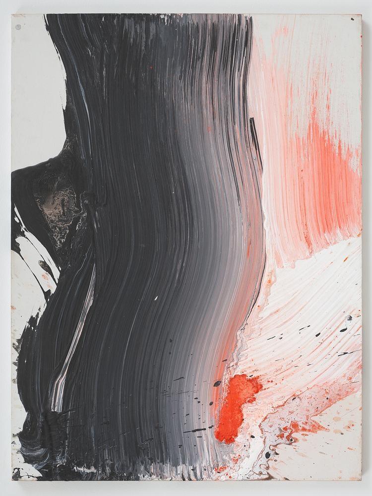 Ed Clark Untitled #2 (New York Series) 2004 acrylic on canvas 39 3/4 x 29 7/8 inches (101 x 75.9 cm)
