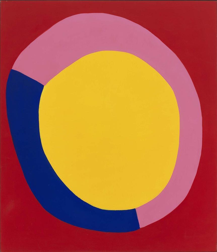 Jules Olitski Thursday 1962 acrylic on canvas 90 x 78 inches (228.6 x 198.1 cm)