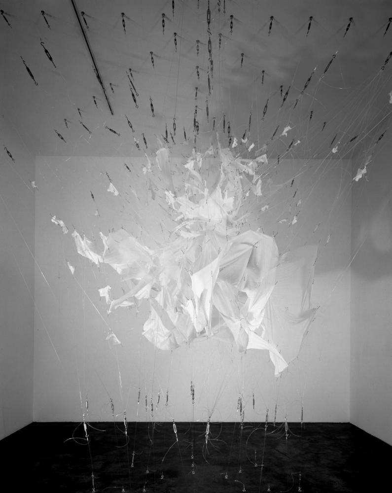 Image of Marilyn Monroe's dress exploding.
