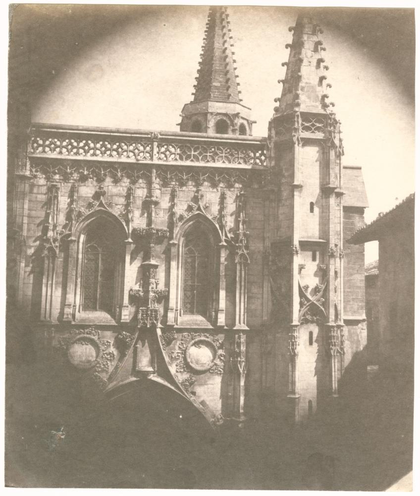 Charles NÈGRE (French, 1820-1880) Saint Pierre Basilica, Avignon, 1852 Salt print from a waxed paper negative 18.5 x 15.6 cm