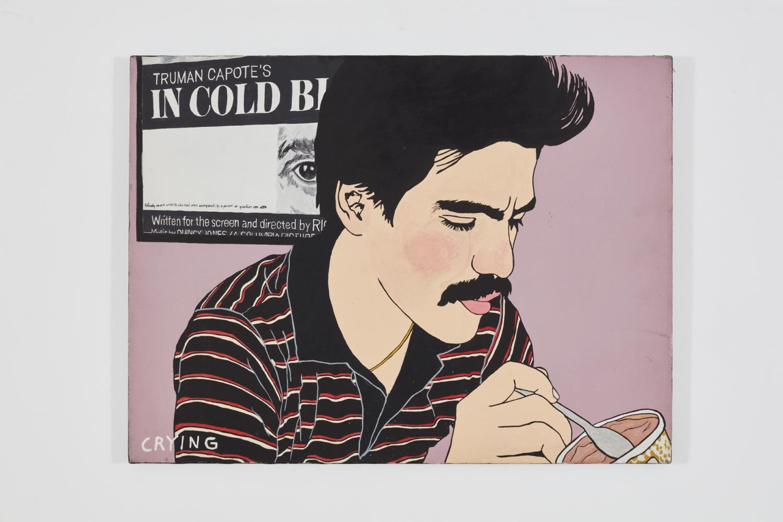 Joey Terrill, Breaking Up / Breaking Down, 1984–1985 detail  Panel 9: Crying