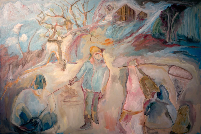 Sosa Joseph, 2016, oil on canvas, 60.9 x 91.4 cm / 24 x 36 in