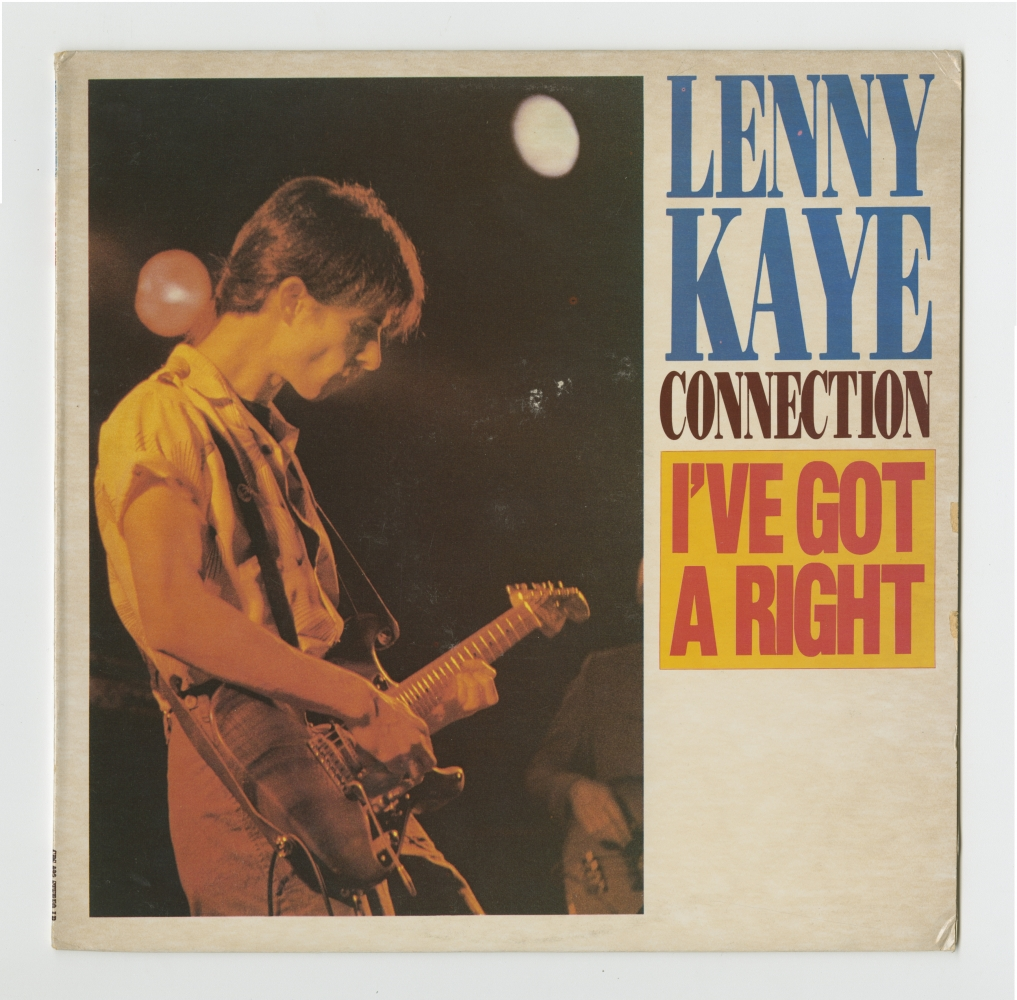Lenny Kaye: I've Got A Right (1984), front cover