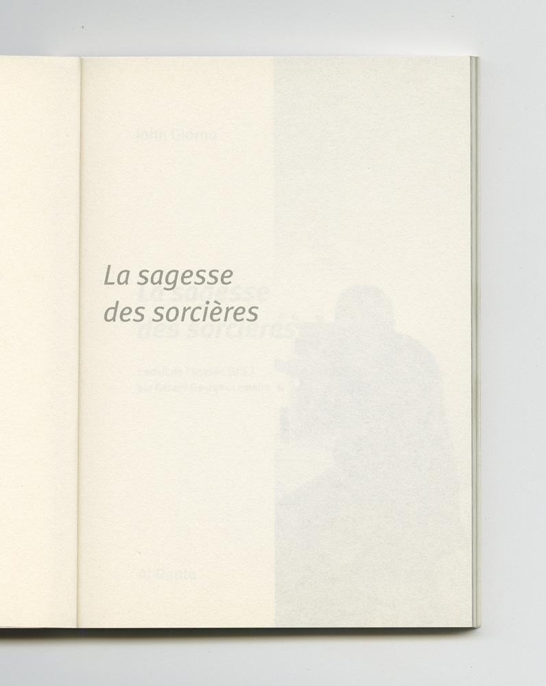 La sagesse des sorcières, 2004 (3) – Half-title