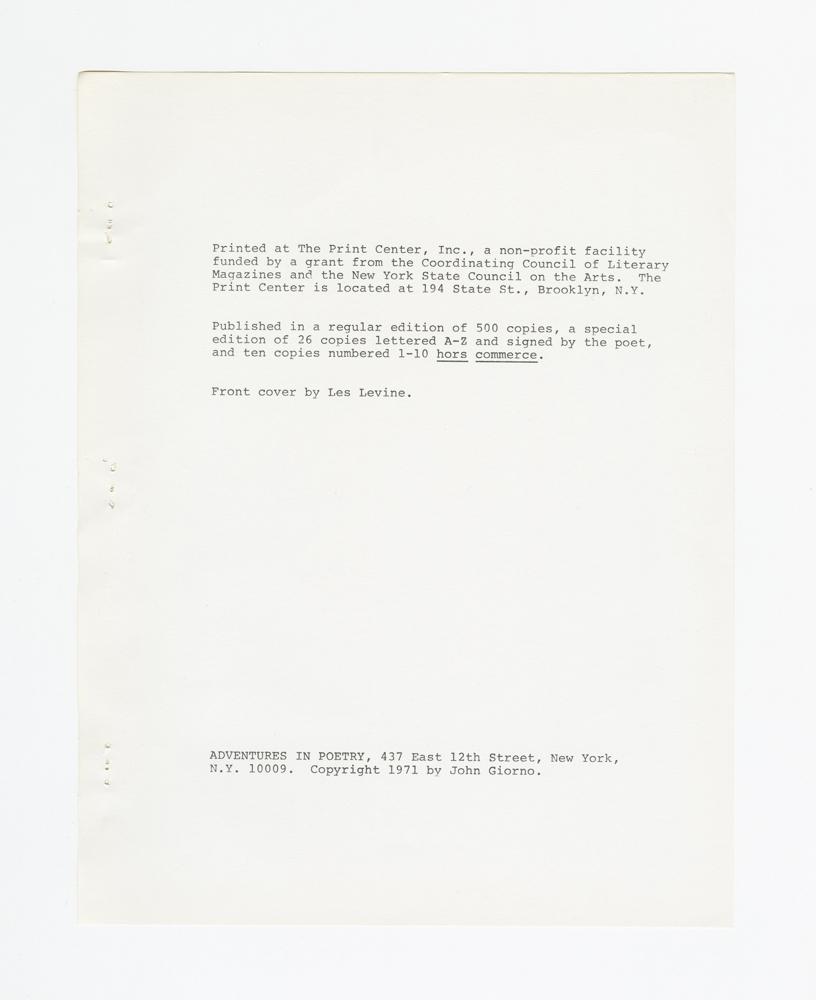 Cum, 1971 (5)