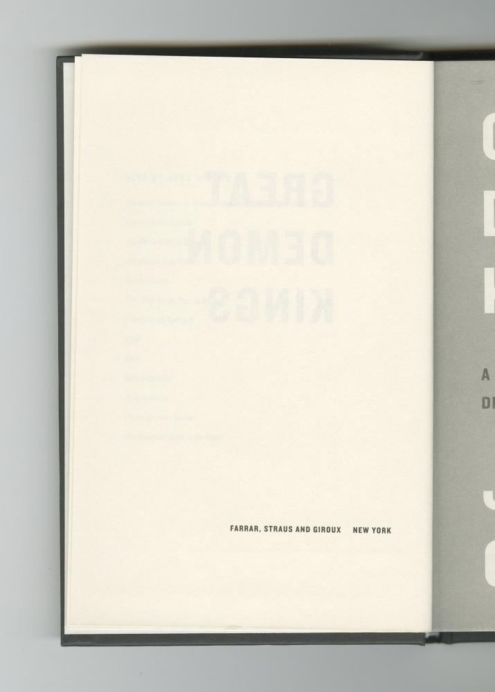 Great Demon Kings, 2020 (4) – Publisher