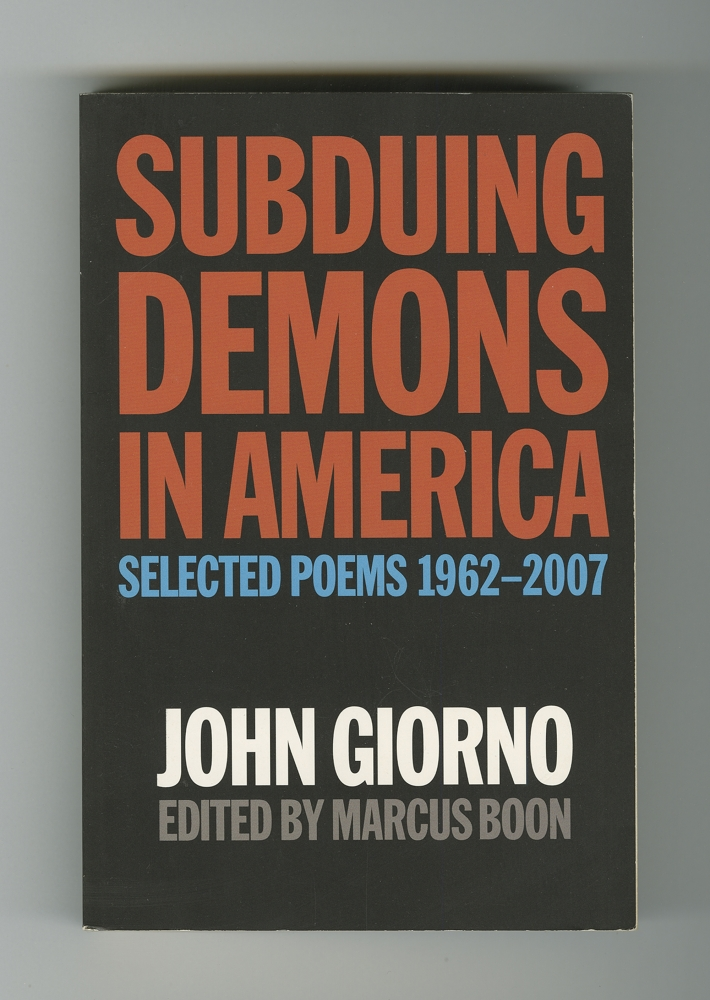 Subduing Demons in America, 2007 (1) – Front cover
