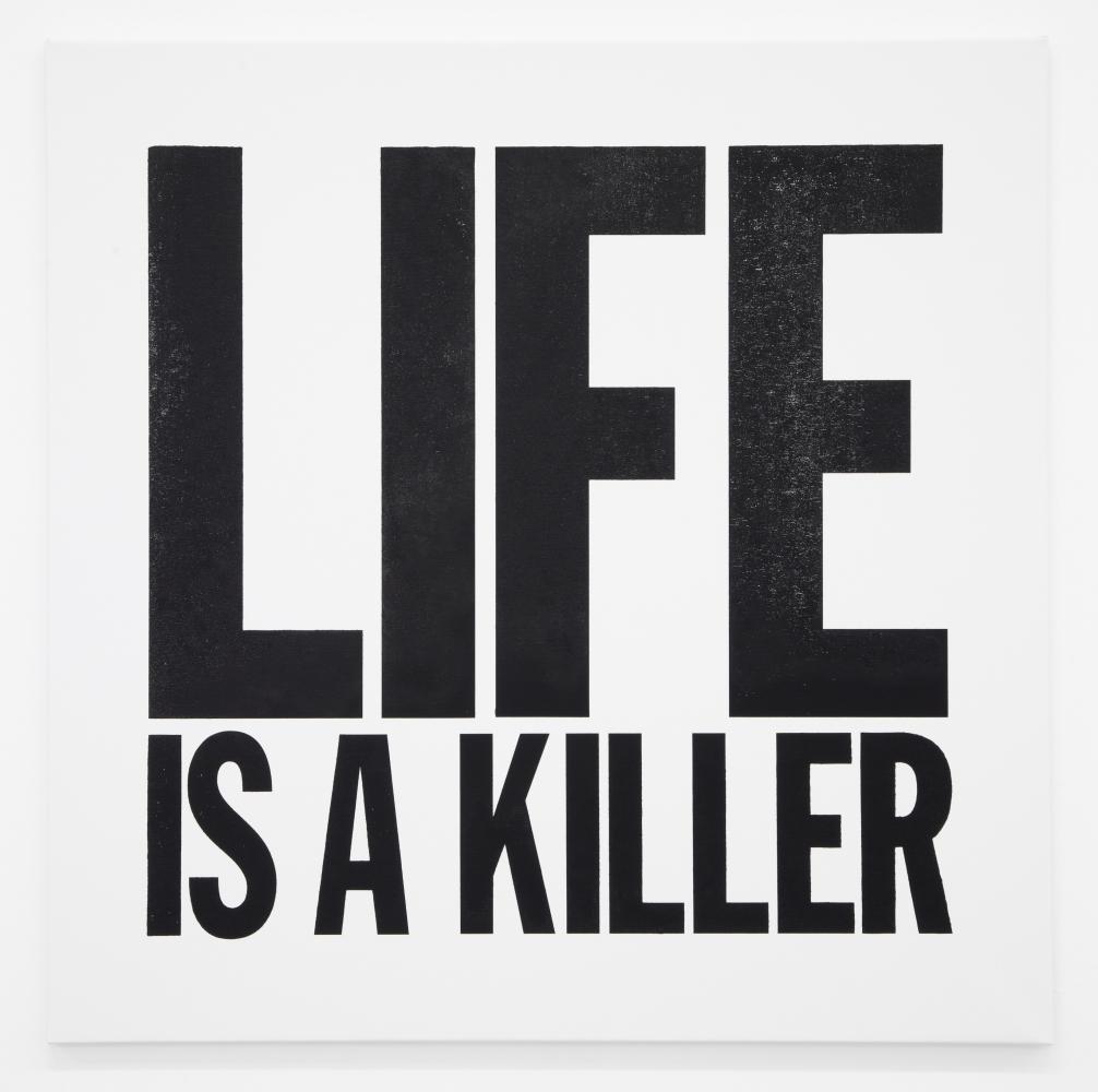 John Giorno, LIFE IS A KILLER, 2012