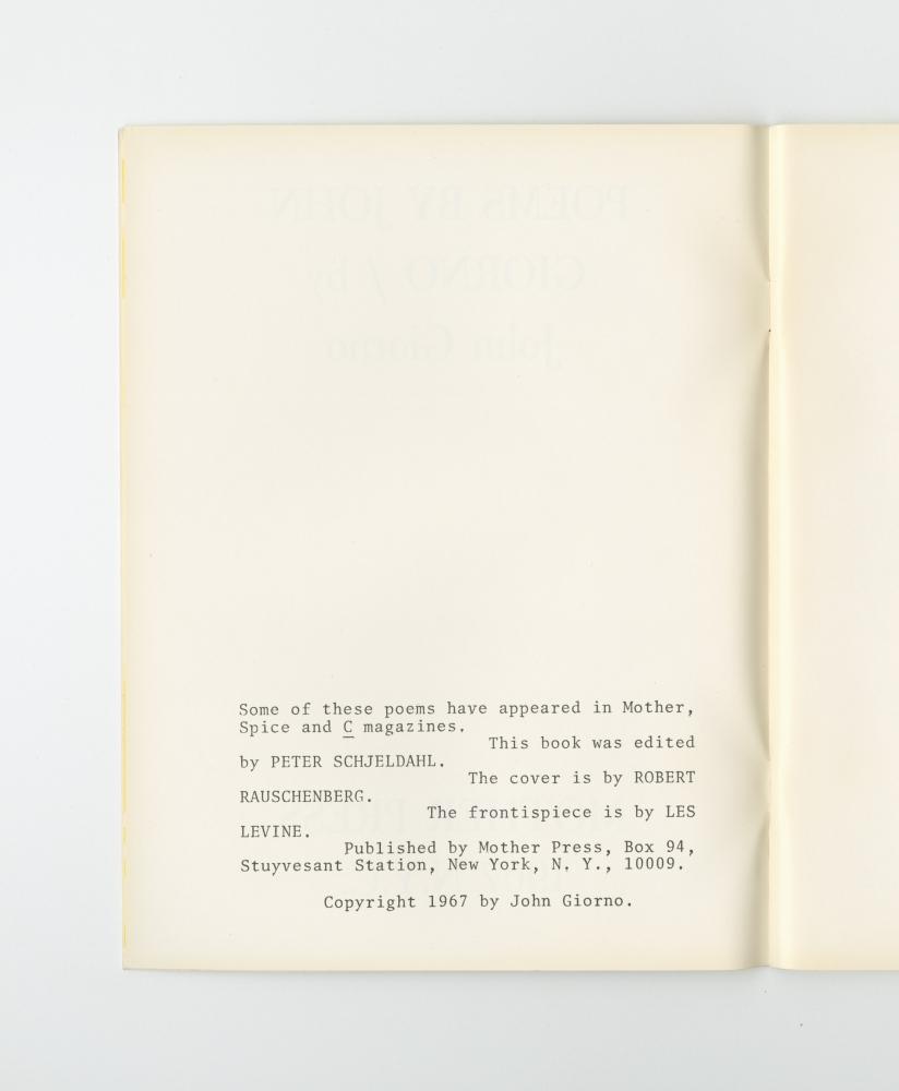 Poems, 1969