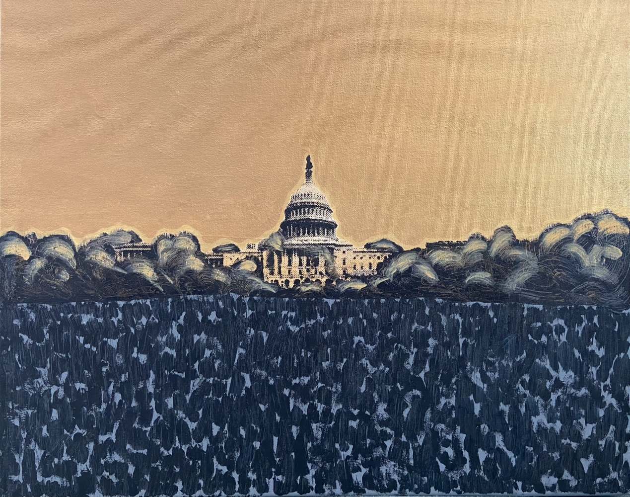 Study of Capitol Takeover II