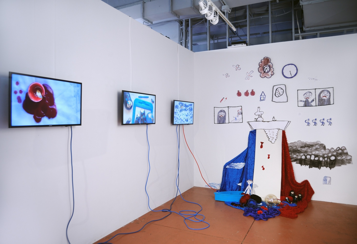Mojdeh Rezaeipour Stories We Tell Ourselves, 2020 Mixed media and video installation Dimensions variable