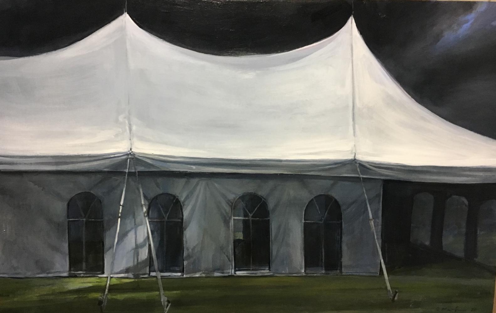"""Light Light  24"""" x 38""""  Oil On Canvas"""