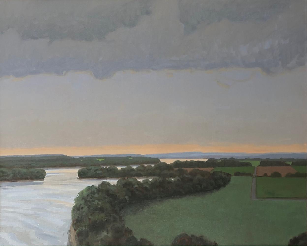 "Morning On The Missouri  22"" x 32""  Oil On Canvas"