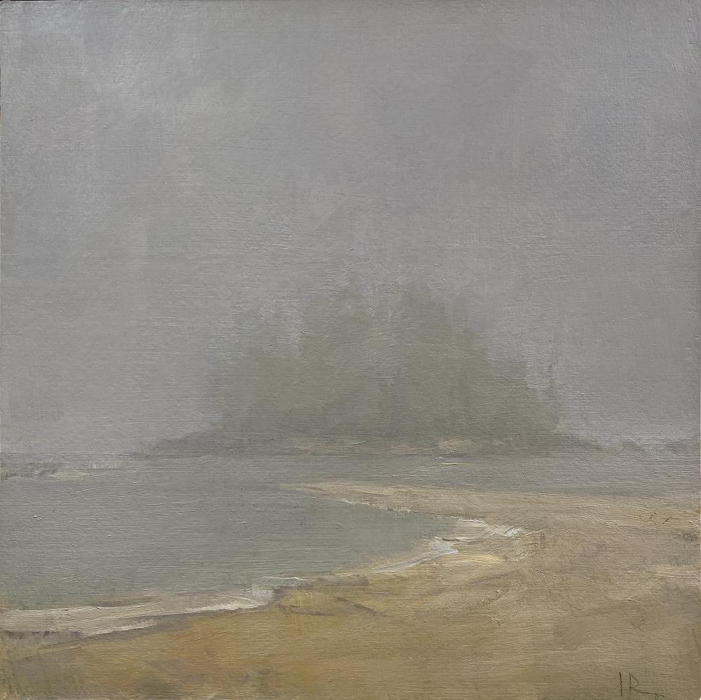 "Goose Cove Island  8"" x 8""  Oil On Panel"