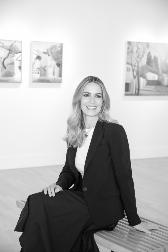 Rebecca Segall, Owner and Director of Gross McCleaf Gallery