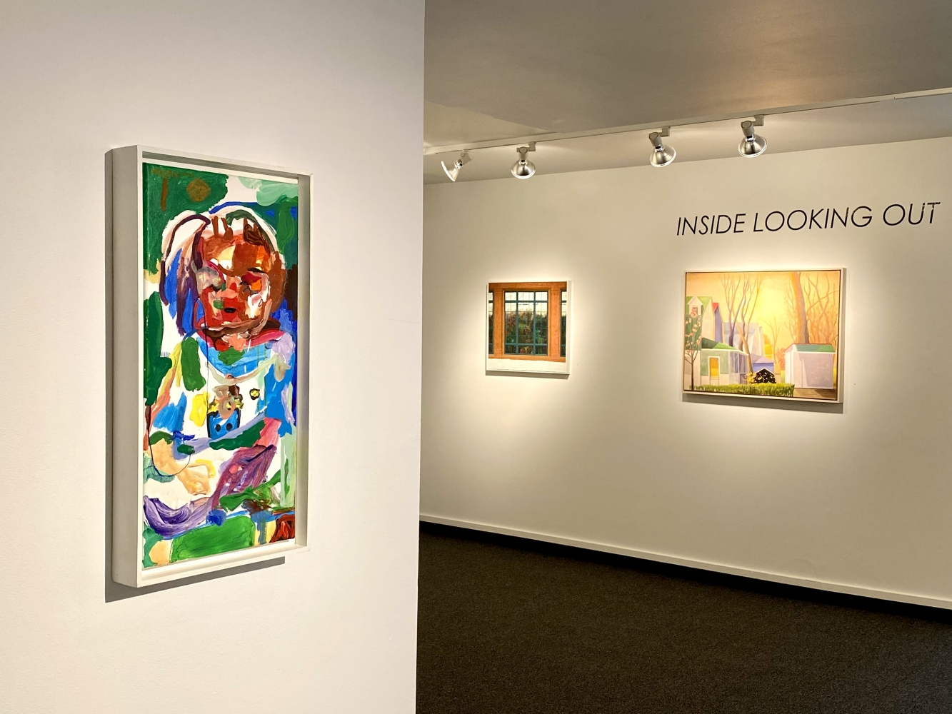 Outside Looking In, installation shot