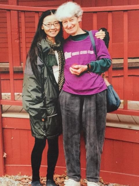 Ying Li and Lois Dodd