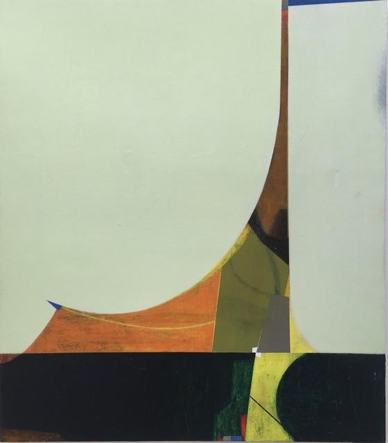 "Large Swan  42"" x 48""  Acrylic On Canvas On Panel"